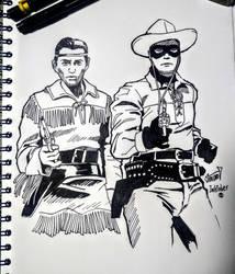 Recuerdos de infancia 2: El Llanero Solitario TV by Wolverine9999