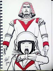 Recuerdos de infancia 5: Robot Gigante by Wolverine9999