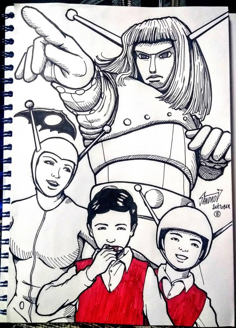 Recuerdos de infancia 9: Monstruos del Espacio by Wolverine9999