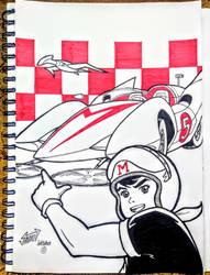Recuerdos de infancia 11: Meteoro (Speed Racer) by Wolverine9999