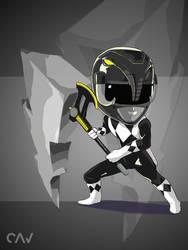 Black Ranger by RafaelCavalcanti