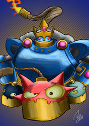 Bomb King by RafaelCavalcanti