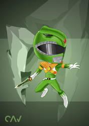 Green Ranger by RafaelCavalcanti
