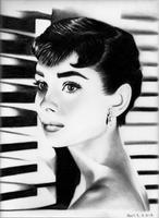 Audrey Hepburn by PearlT