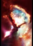 Firelight Nebula by GieGie