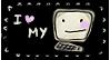 I love my Computer Stamp by ViolaAtDeviant