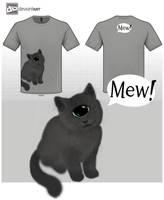 Mew! by ViolaAtDeviant