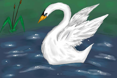 Swan by Aendye