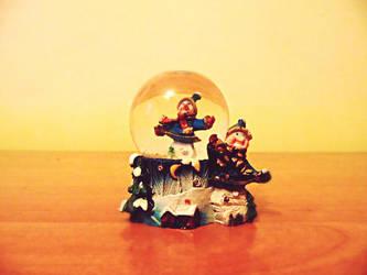 Winter Globe by Aendye