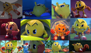 Pac-Man Wallpaper by Ilovesonicandfriend