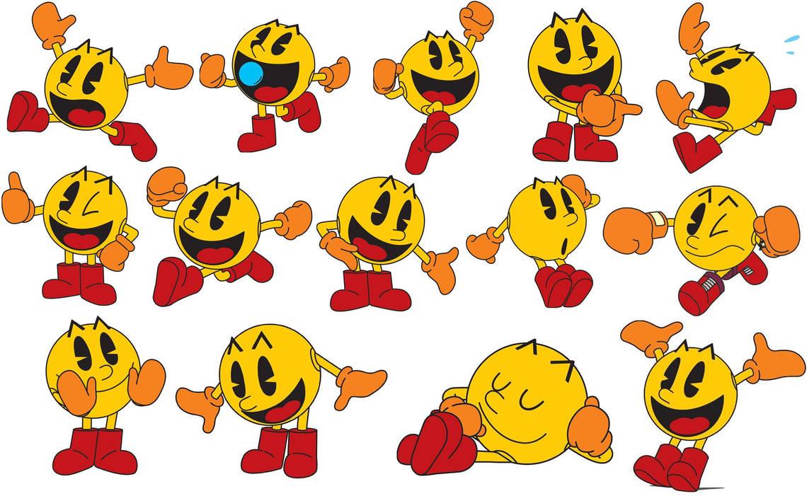 Classic Pac-Man Wallpaper by Ilovesonicandfriend