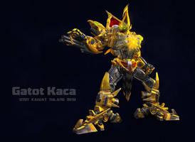 Gatot Kaca Mecha by zeal08