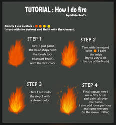Tutorial : How I do fire by MisterSev7n