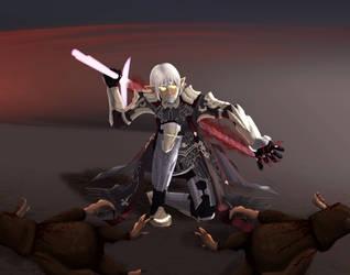 Dark Knight Sangriah Valere by dhkite
