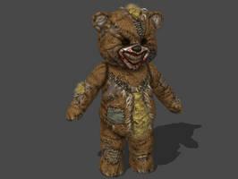 INSANITY MUTANT BEAR ORIGINAL BONES by Oo-FiL-oO