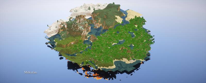 Minecraft - High Render Distance + Mineshot by Milkafan34