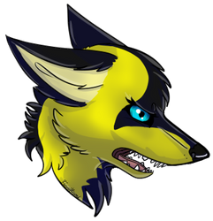 unnamed wolf(request) by firewolfheart7