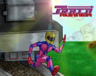 Train Runner - Video Game Art by PlayerKill