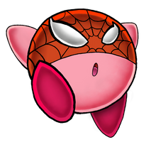 Spider Kirby by master-funk-9000