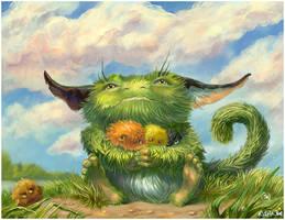 Troll and pellonpekkos by linasidorova