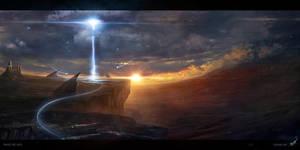 Dawn of the Juggernaut by linasidorova