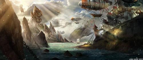 Pirate bay by linasidorova