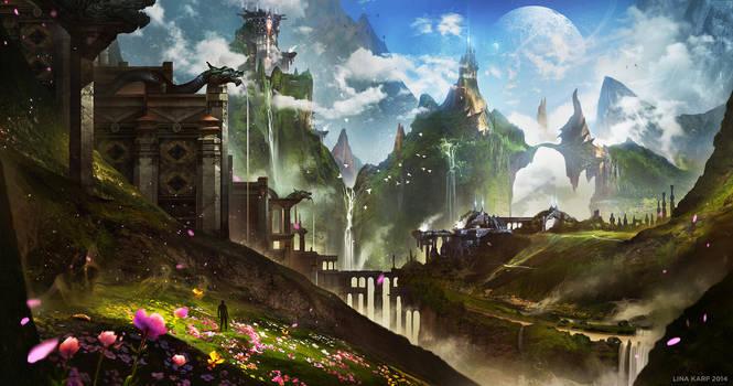 Perfect World by linasidorova