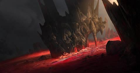 Red by linasidorova