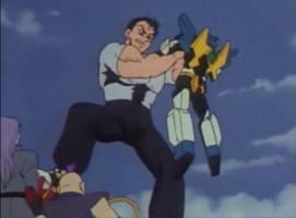Brave Series Giant fights Gundams by lovegiants