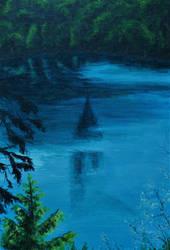 Le Lac Pavin by Pensolcez
