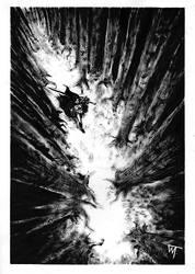 Dark path by Pensolcez