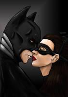 Dark Knight Rises - Batman Catwoman by bountyDBZ