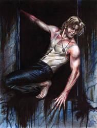 Vampire Gangrel Jack by Orestes-Sobek