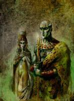 Dark Gods - Egypt 02 by Orestes-Sobek