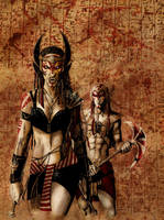 Dark Gods - Egypt 03 by Orestes-Sobek
