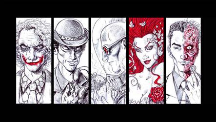 Batman Villains #1 by Orestes-Sobek