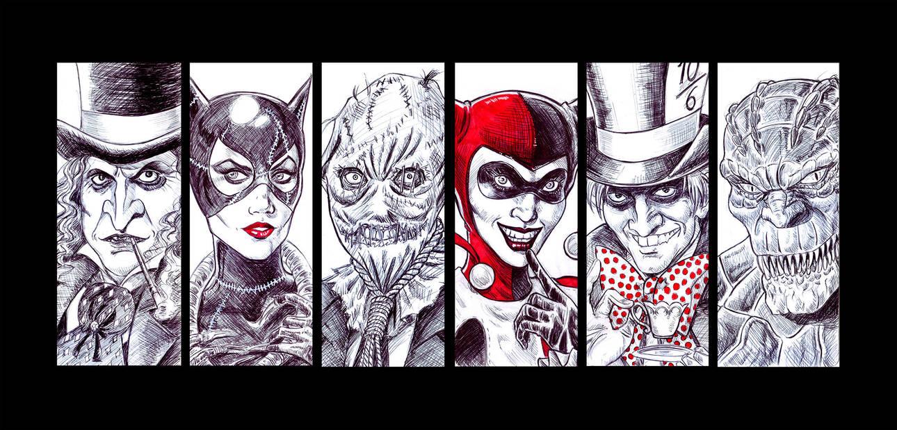 Batman Villains #2 by Orestes-Sobek