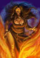 Fat witch by DarianaLoki