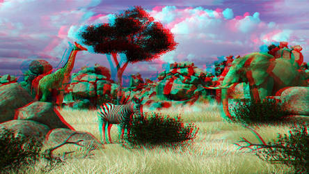 Safari by 3D-Stereoimage