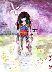 The Hell Girl by stolenwings