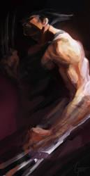 Wolverine Speed paint by JimboBox