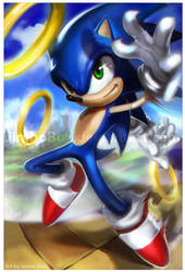 Sonic by JimboBox