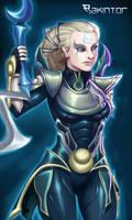 Diana:::League of legends Rakintor style by RakinTor