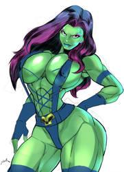 Gamora by zetarok