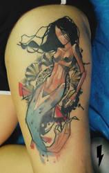 the mermaid by jukan6