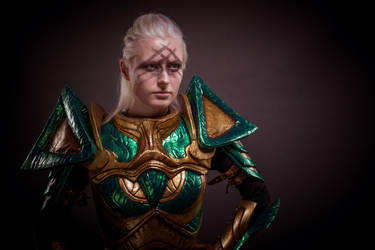 Glass Armor portrait by KatharsisCosplay