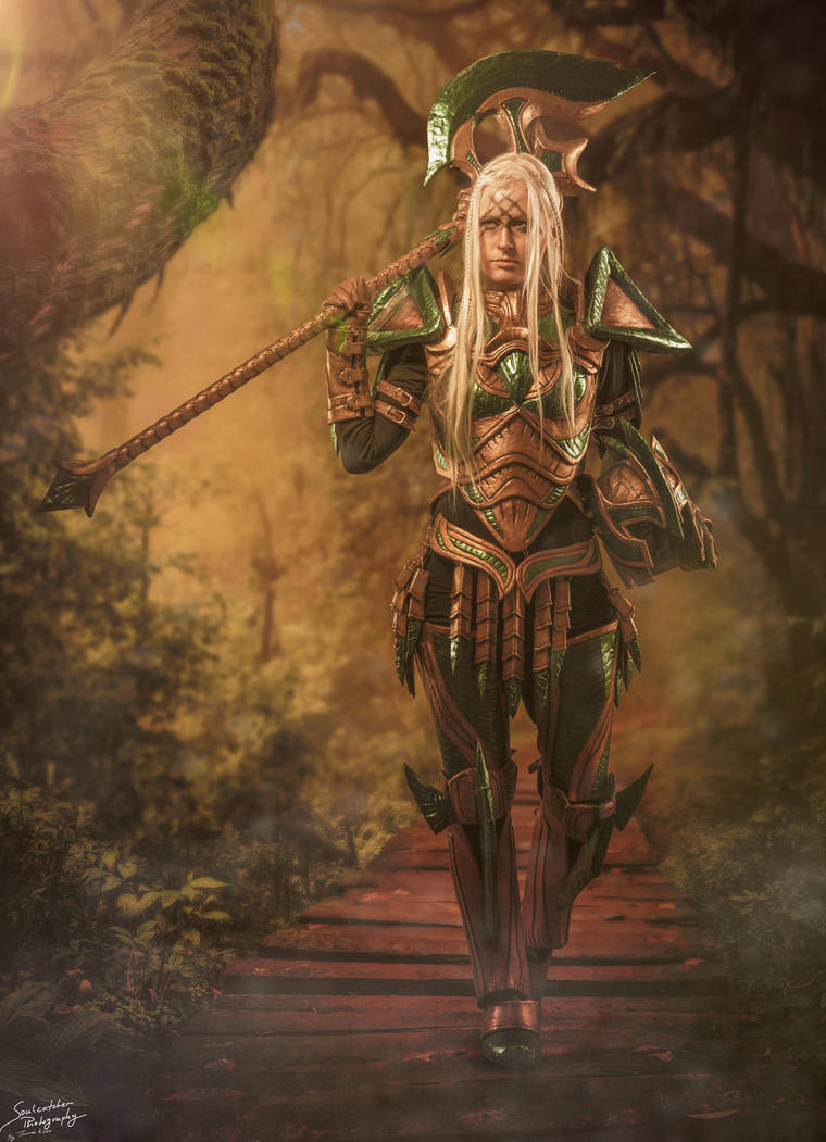A Walk in the Forest by KatharsisCosplay