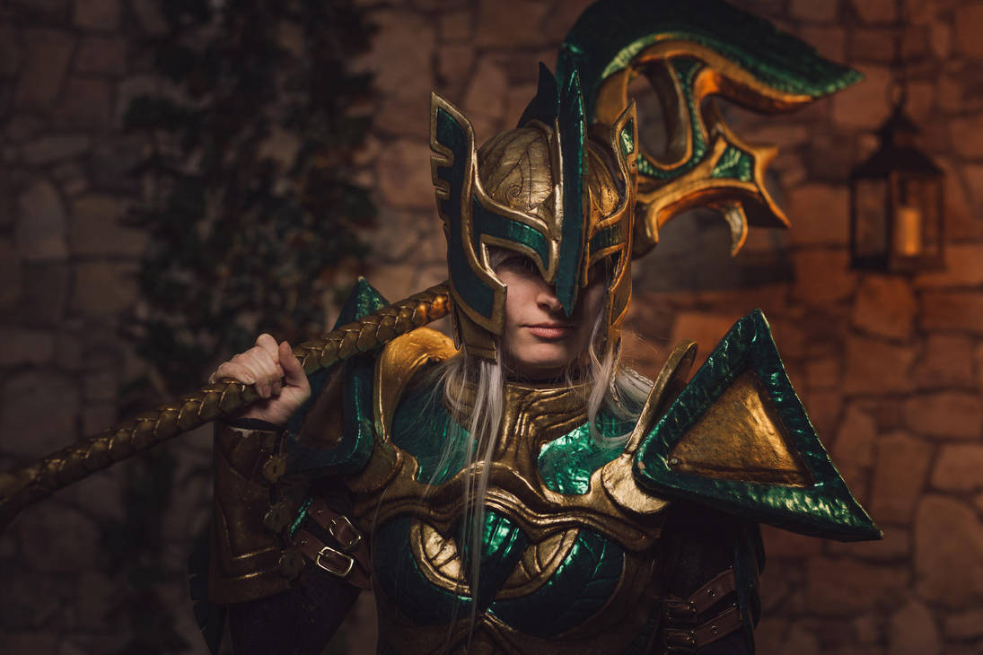 Dovahkiin Portrait by KatharsisCosplay