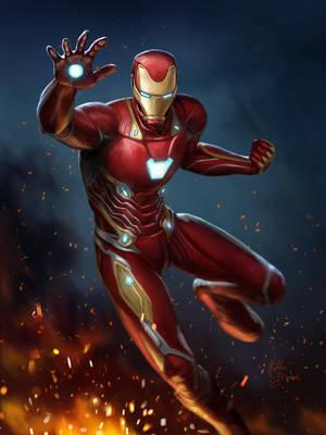 Iron Man by nataliebernard