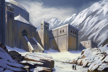 Dwarven Ruins by nataliebernard